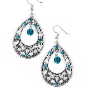 Gotta get the glow blue earrings